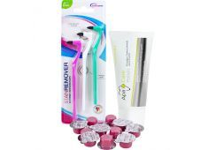 wellsamed Stain Remover + 10 x Professional Zahnpolierpaste + 1 x ApaCare Polish