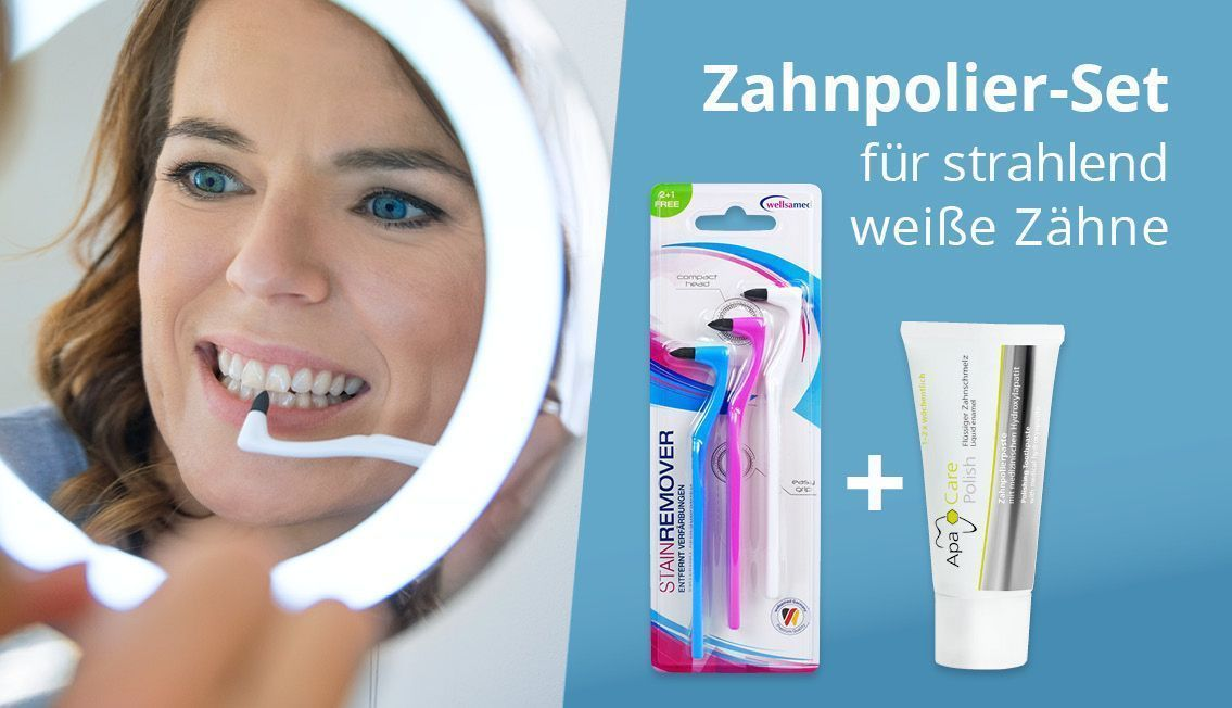 Zahnpolierset stain remover