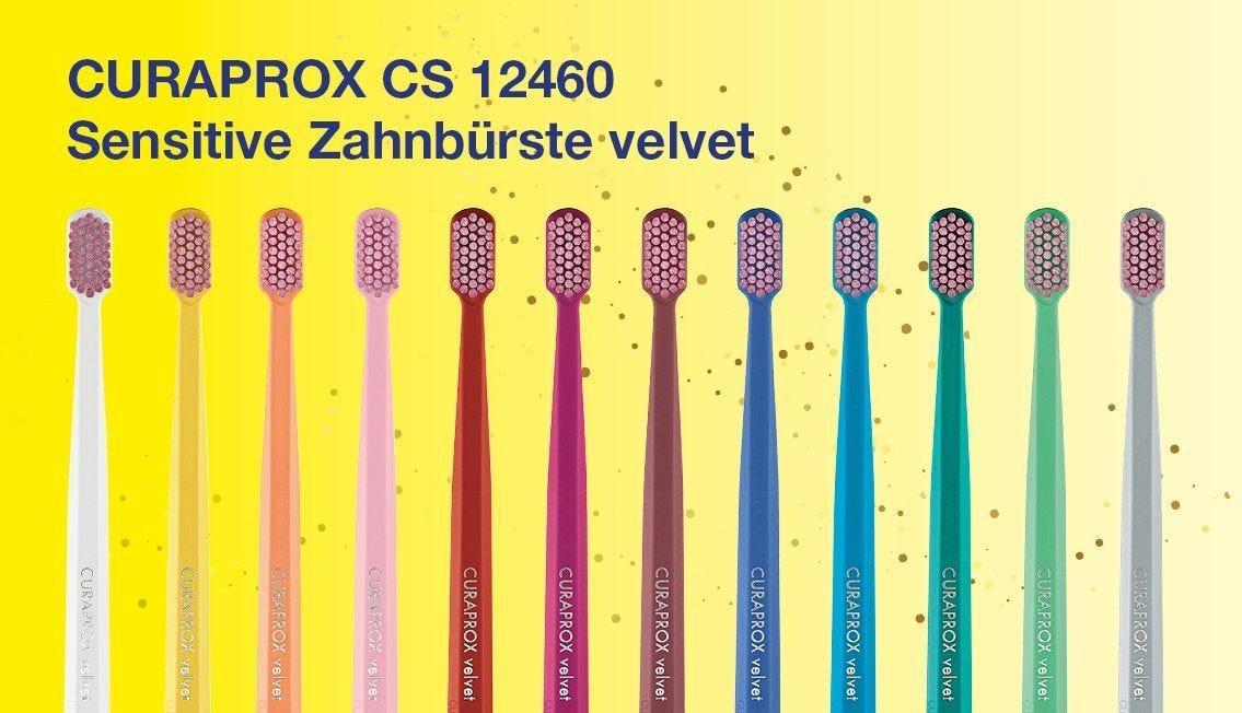 CURAPROX Sensitive Zahnbürste velvet